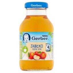 100% sok jabłko po 4. miesiącu