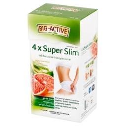 4 x Super Slim Herbatka ziołowo-owocowa Suplement di...