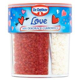 Love Mix dekoracji cukrowych