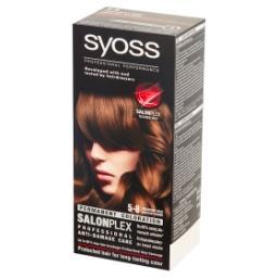 SalonPlex Farba do włosów orzechowy brąz 5-8