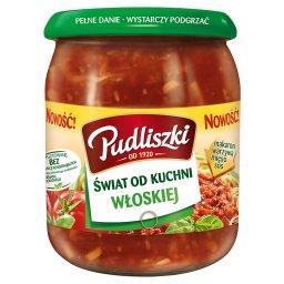 Świat od kuchni włoskiej Spaghetti po bolońsku z mięsem