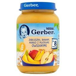 Jabłuszka banany mango z płatkami owsianymi po 8 miesiącu