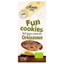 Fun Cookies Bio fajne ciasteczka orkiszowe