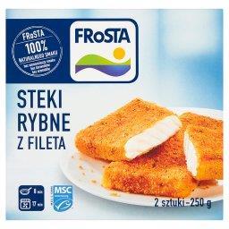 Steki rybne z fileta  (2 sztuki)