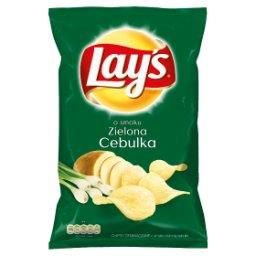 O smaku Zielona cebulka Chipsy ziemniaczane