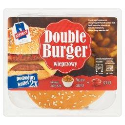 Double burger wieprzowy