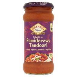 Indyjski sos pomidorowy Tandoori z cebulą wędzoną papryką i migdałami
