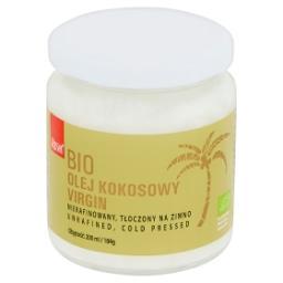 Bio olej kokosowy virgin niefiltrowany tłoczony na zimno