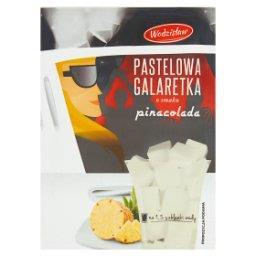 Pastelowa galaretka o smaku pinacolada