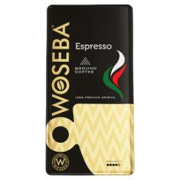 Espresso Kawa palona mielona