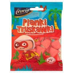 Pianki Truskawki Cukierki o smaku truskawkowym