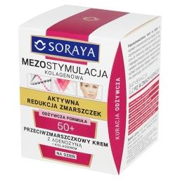 Mezostymulacja kolagenowa 50+ Przeciwzmarszczkowy krem na dzień
