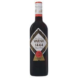 Wino Varna 1444 L.H. czerwone półwytrawne 0,75l