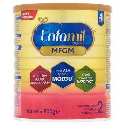 Premium MFGM 2 Mleko następne powyżej 6. miesiąca życia