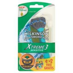 Xtreme3 Sensitive Jednorazowe maszynki do golenia 6 sztuk
