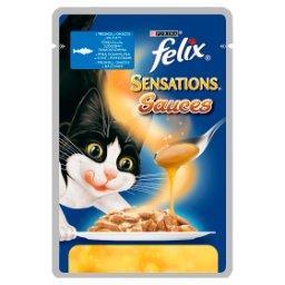 Sensations Sauces Karma dla kotów z rybą w sosie z p...