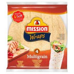 Wraps Tortille z mąki pszennej z siemieniem lnianym ...