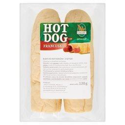 Bułki do hot dogów 2 sztuki 120g