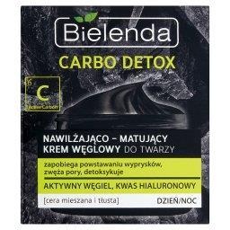 Carbo Detox Nawilżająco-matujący krem węglowy do twarzy cera mieszana i tłusta