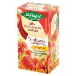 Herbaciany Ogród Herbatka owocowo-ziołowa truskawka z poziomką 50 g