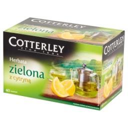 Herbata zielona z cytryną 40 torebek