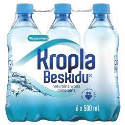 Naturalna woda mineralna niegazowana