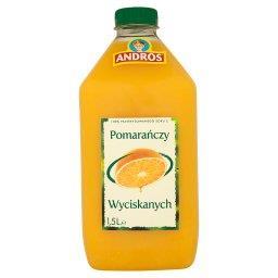 100% Sok z pomarańczy wyciskanych 1,5 l