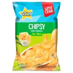 Chipsy ser i cebula