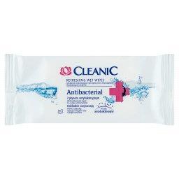 Antibacterial Chusteczki odświeżające z płynem antybakteryjnym 15 sztuk