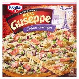 Guseppe Smaki Świata Pizza z sosem śmietanowym i serami