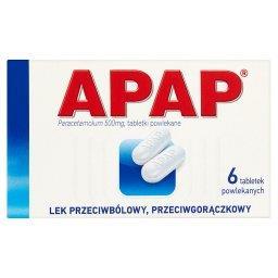 500 mg Tabletki powlekane 6 tabletek