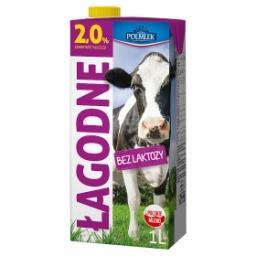 Łagodne Mleko UHT bez laktozy 2%
