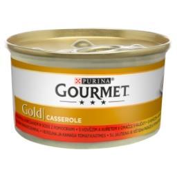 Gold Karma dla kotów casserole z wołowiną i kurczakiem w sosie z pomidorami