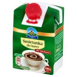 Śmietanka do kawy UHT 10%