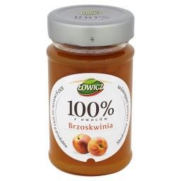 Dżem 100% z owoców brzoskwinia