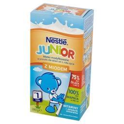 Junior Mleko modyfikowane w proszku dla dzieci od 1. roku życia z miodem