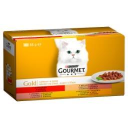 Gold Karma dla kotów kolekcja kawałków w sosie 340 g