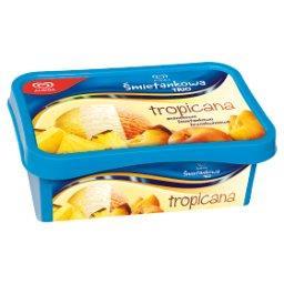 Śmietankowa Trio Tropicana ananasowo śmietankowo brzoskwiniowa Lody