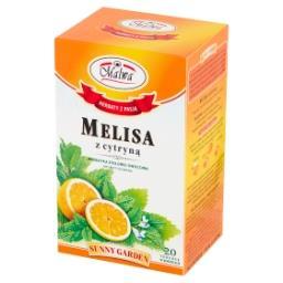 Sunny Garden Herbatka ziołowo-owocowa melisa z cytryną  (20 x 1,5 g)