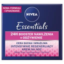 Essentials Intensywnie regenerujący krem na noc cera...