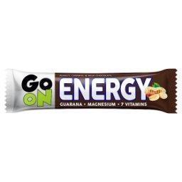 Go On Energy Baton z orzeszkami arachidowymi i karmelem oblany mleczną czekoladą