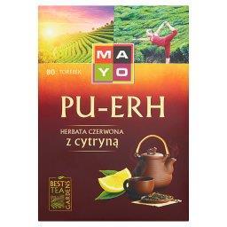 Pu-Erh Herbata czerwona z cytryną 120 g (80 torebek)