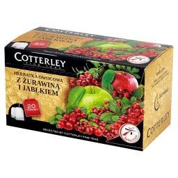 Herbatka owocowa z żurawiną i jabłkiem 20 torebek