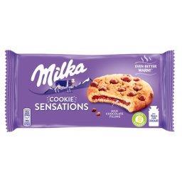 Sensations Ciastka z kawałkami czekolady mlecznej z mleka alpejskiego