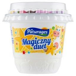 Magiczny duet Jogurt o smaku waniliowym z drażami