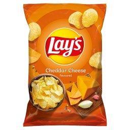 Chipsy ziemniaczane o smaku sera cheddar