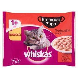 Kremowa Zupa Tradycyjne smaki Karma pełnoporcjowa 1+ lat 340 g (4 saszetki)