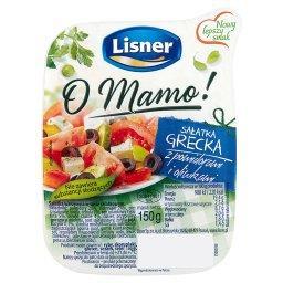 O Mamo! Sałatka grecka z pomidorami i oliwkami