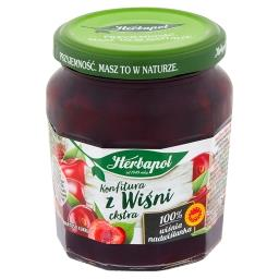 Konfitura extra z wiśni o obniżonej zawartości cukru