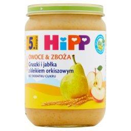 BIO Owoce & Zboża Gruszki i jabłka z kleikiem orkiszowym po 5. miesiącu
